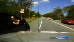 Thumbnail of Terrified driver chased by road rage ''lunatic""