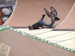 Thumbnail of BMX crash compilation