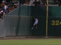 Thumbnail of Ball girl makes incredible catch