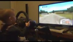Thumbnail of Baby drives rally simulation