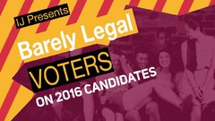 Thumbnail of 'Barely Legal Voters' Try to Identify 2016 Prez Candidates- And There's One Name T