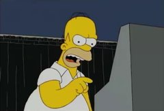 Thumbnail of Homer Simpson tries to vote for Obama