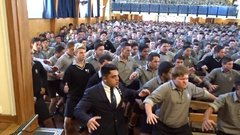 Thumbnail of Farewell haka for retiring teacher