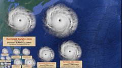 Thumbnail of Hurricane size comparison