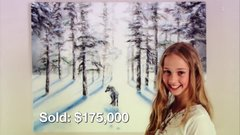 Thumbnail of Child Prodigy is a Self-Made Millionaire from Selling Her Incredible Paintings SuperHuman: Geniuses