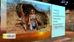 Thumbnail of Big game hunter who killed giraffe faces social media backlash