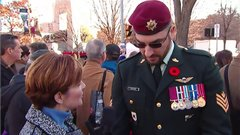 Thumbnail of Remembrance Day 'sergeant' not in the military: DND