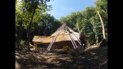 Thumbnail of Thatching the Iron Age Roundhouse-Timelapse