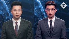 Thumbnail of China's Xinhua agency unveils world's first AI news presenters