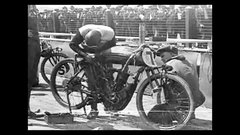 Thumbnail of Los Angeles Motor Speedway, April 24, 1921. Motorcycle Board Track Race