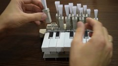 Thumbnail of Organ with reed pipes from paper