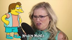 Thumbnail of Nancy Cartwright does her 7 Simpsons characters