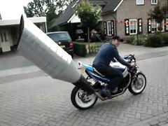 Thumbnail of Oversized exhaust