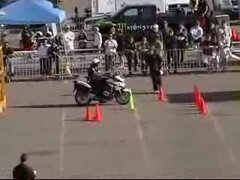 Thumbnail of Southwest police motorcycle competition 09'