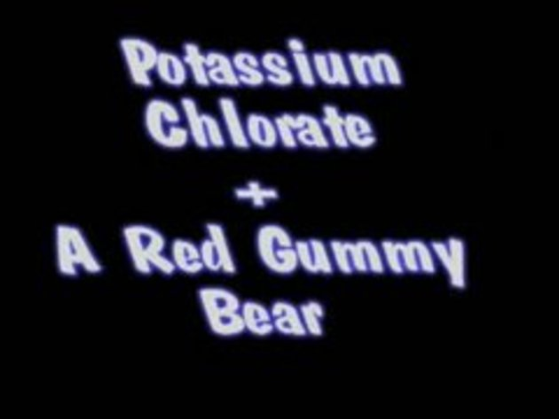 potassium chloride gummy bear