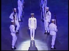 Thumbnail of US Navy drill team in Norway