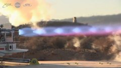 Thumbnail of METHANE ROCKET TEST (Nasa)