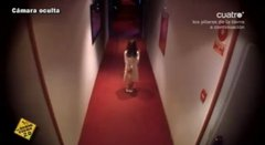 Thumbnail of Scary little girl in a hotel corridor