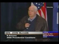 Thumbnail of McCain calls Putin the president of Germany