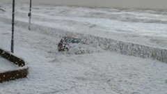 Thumbnail of White stuff at Cleveleys