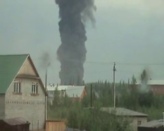 Thumbnail of Oil Tank Explosion